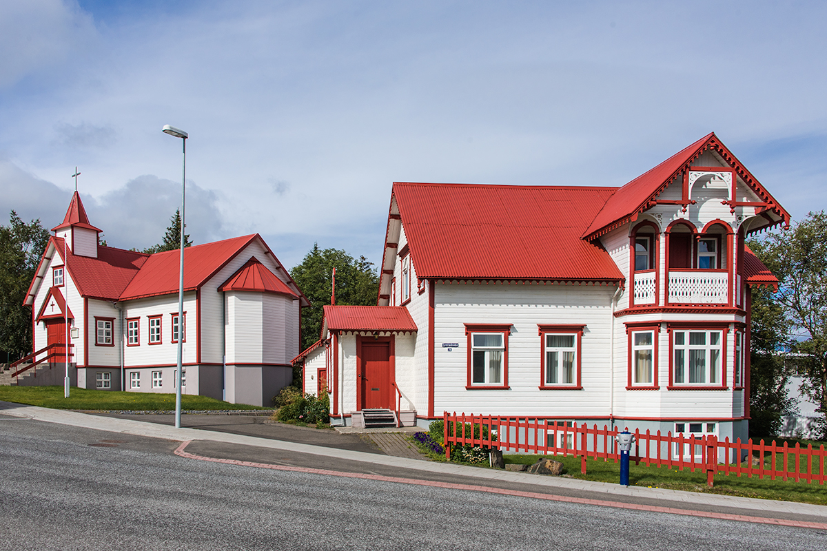Akureyrir is a town of rich culture and history