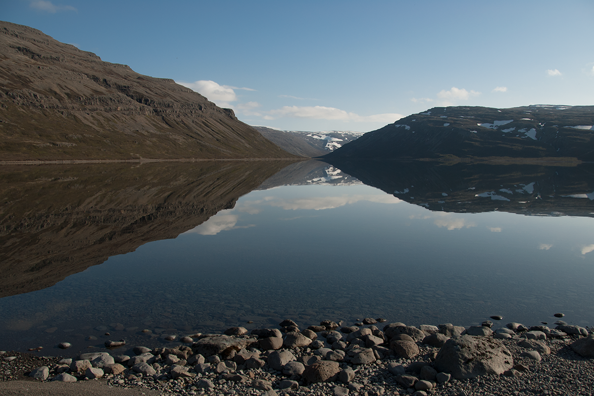 Vatnsfjordur when driving the Westfjords scenic drive