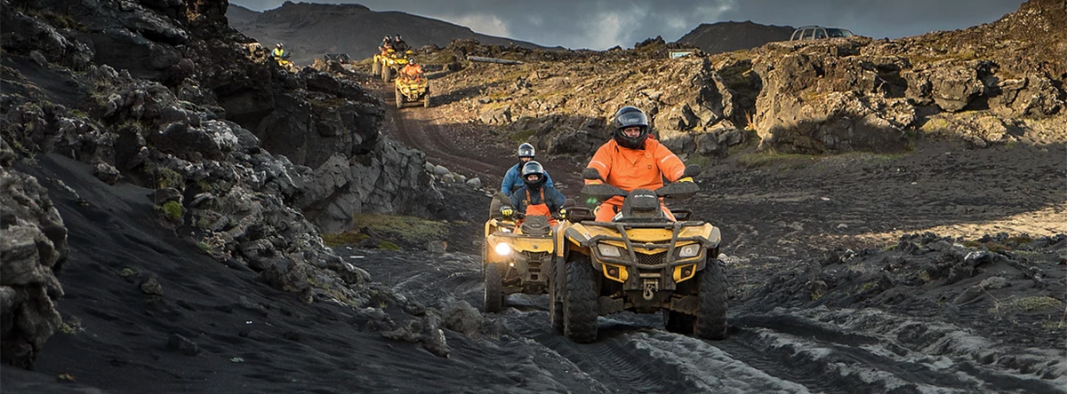 Volcanic Safari full day ATV / Quad tour