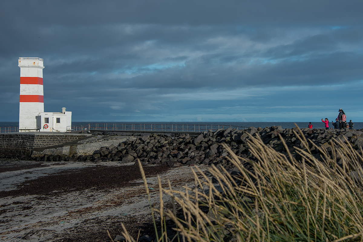 The lighthouse Garðskagaviti old