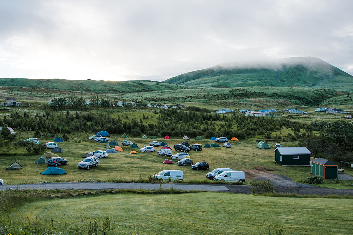 Most camping sites are fantastic in Iceland and all open during summer