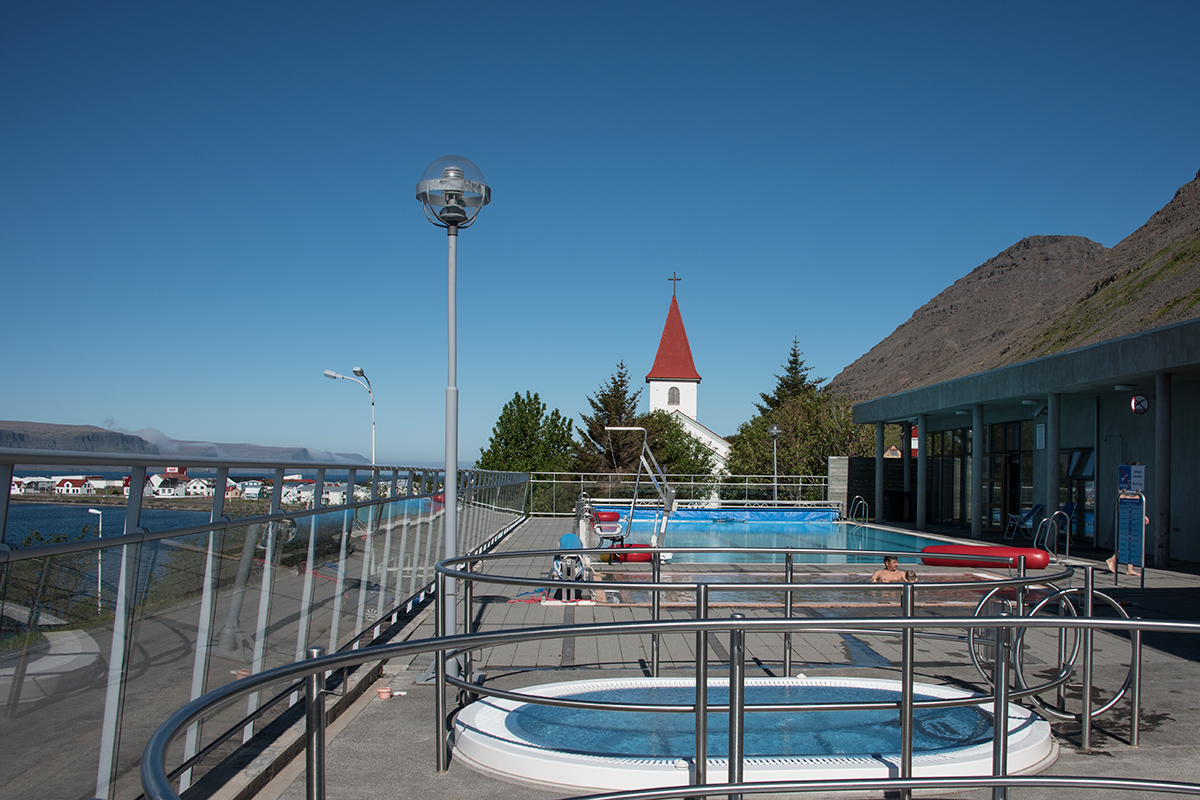 Swimming pools are almost in every town and village in Iceland