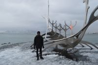 Matthew Morgan, a Londoner who decided to make a stopover trip in Iceland