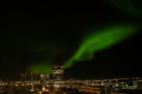 The northern lights or Aurora borealis are back in business