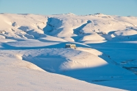 The Highland in Iceland is soon covered with snow