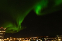 City of Reykjavík and Capital city neighbours turn of city lights for better view of Aurora Borealis