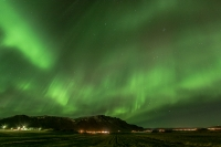 The Northern Lights above Esja