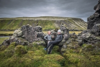 There are places in the Icelandic Highland that are still calm and quiet, and few people visit.