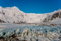 There are many reasons why you want to see a glacier tongue up close