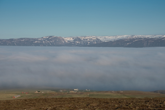 Sometimes our fjords are filled with fog