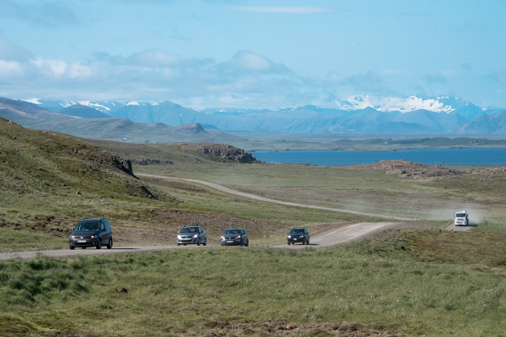 Driving in Iceland is differed from driving in other countries