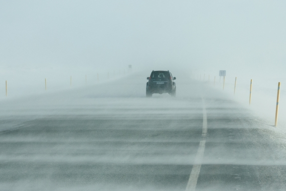 Driving in winter in Iceland is often very difficult and can be dangerous