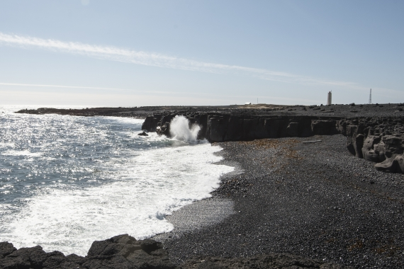 Malarrif is an important place to visit when driving the Snæfellsne Peninsula