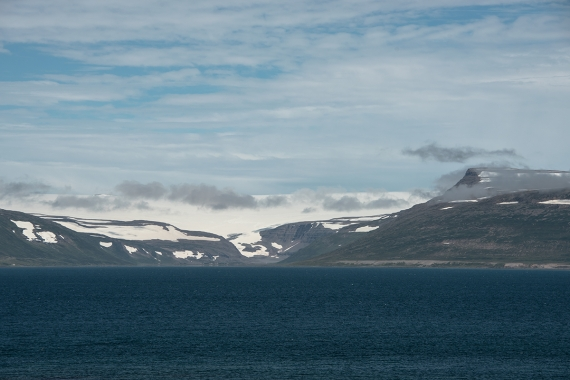 It is quite curious that the rugged Westfjords Peninsula only has one tiny glacier, Drangajökull.