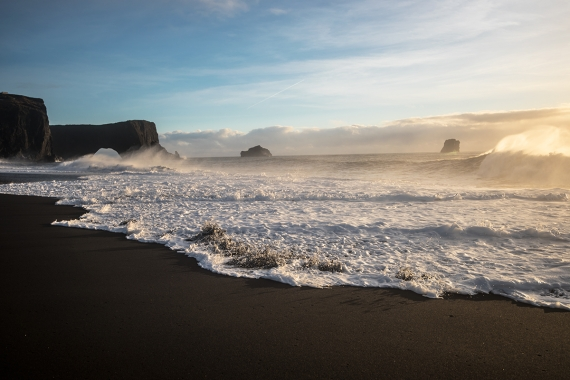 Dyrholaey is one of the southern most part of Iceland