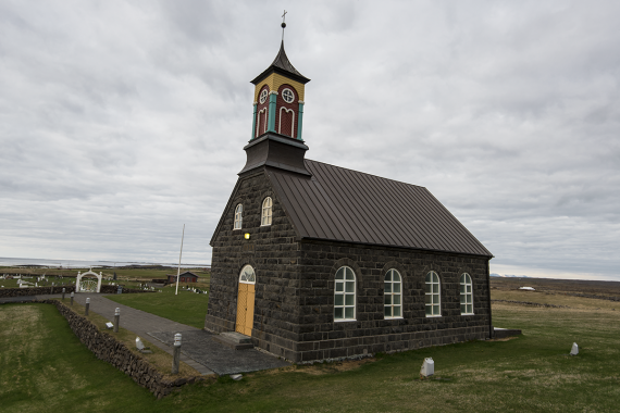 The longest serving priest in the Hvalsnes parish was Hallgrímur Pétursson, a much-loved hymn writer