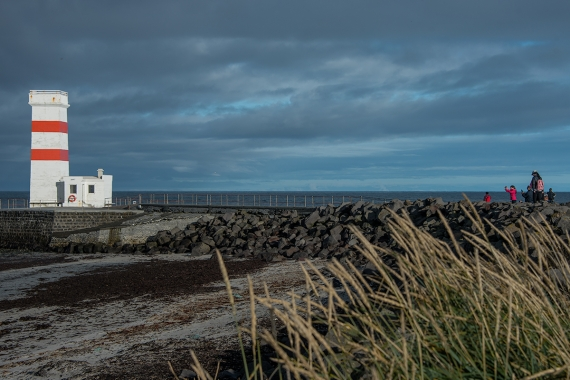 The Garðskagi Lighthouses