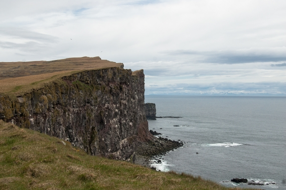 Látrabjarg is not easy to describe. It has to be experienced.