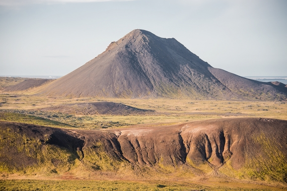 Mount Keilir on the Reykjanes Peninsula