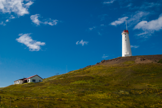 The Reykjanes Lighthouse