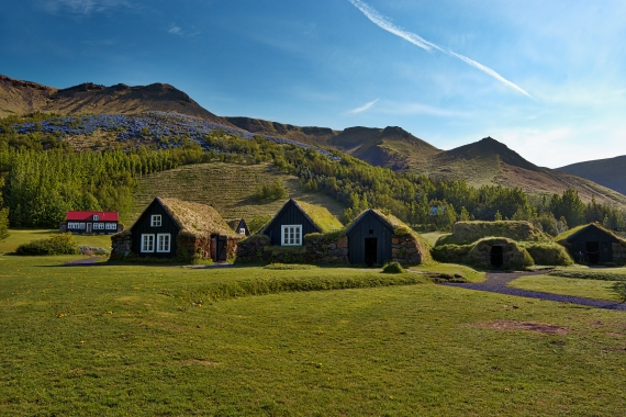 Skógar is a tiny hamlet on the south shore of Iceland right by the Ring Road