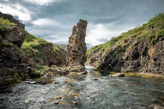 At Flókalundur you will also find some wonderful short hiking trails and walk by the river Penna