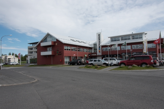 Egilsstaðir is a small town and the center of the Eastern Region in Iceland
