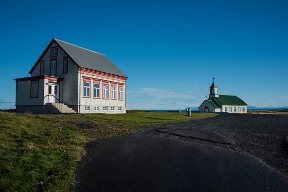 The church at Garður village