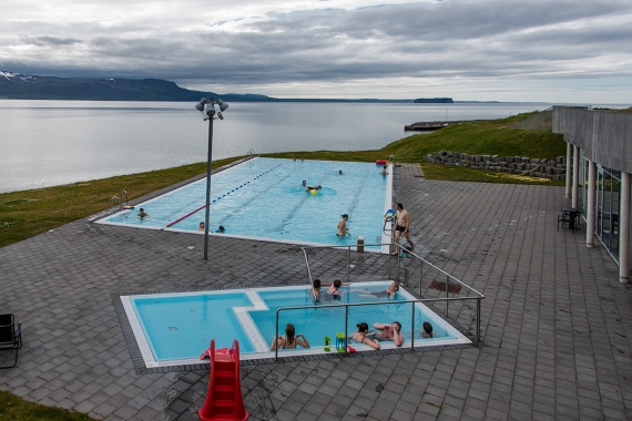 Hofsós is a tiny village in the Northern Region in Iceland and has one of the nicest swimming pools in Iceland