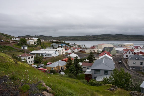 Hólmavík is a small village in the West Fjords in Iceland