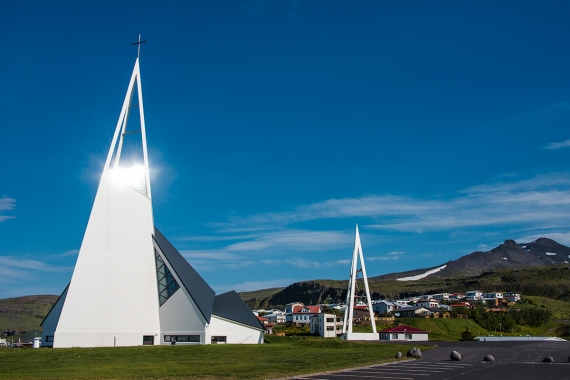 Ólafsvík is a town in the Snæfellsnes peninsula the Western Region in Iceland
