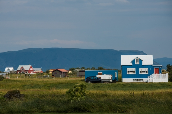 Stokkseyri is a tiny village in the Southern Region in Iceland
