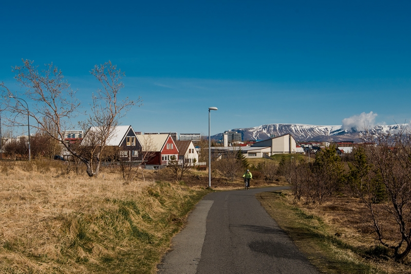 The district Breiðholt got its name from a farm that was once on the outskirts of Reykjavik.