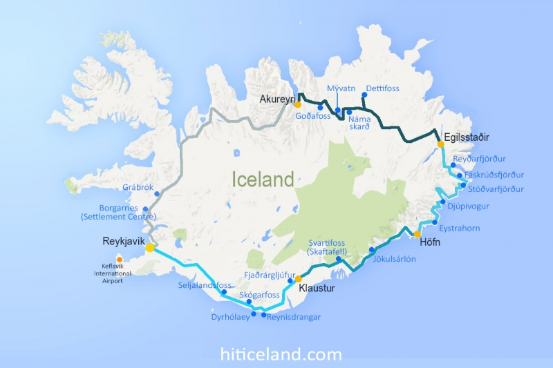 The best option for your trip to Iceland, the Ring Road