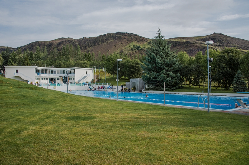 Sundlaugin Laugaskarði is perhaps the best swimming pool in Iceland.