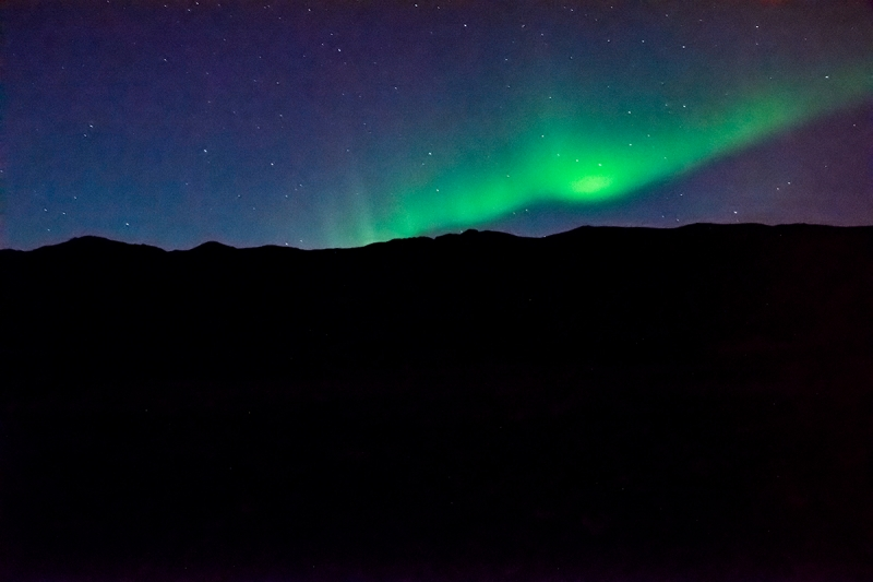 Promising condition for viewing northern lights around Reykjavík tonight