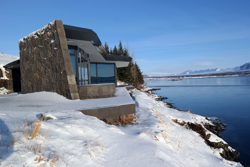 A new summerhouse at Thingvellir Iceland
