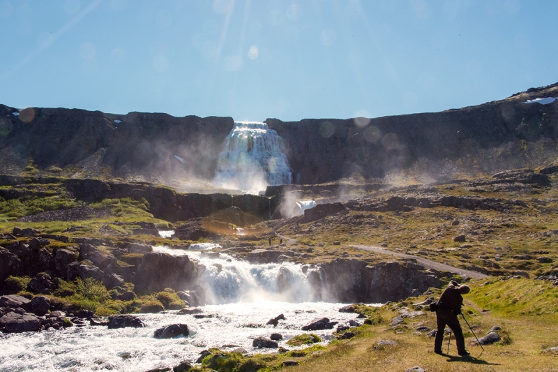 Dynjandi is one of the most spectacular waterfalls in Iceland