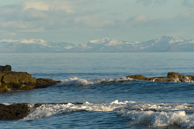 The sea is an important part of any view at Barðaströnd