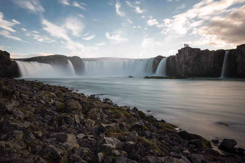 Goðafoss in summer