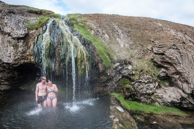 Laugarvellir is probably the best and most impressive geothermal, natural pool in Iceland.