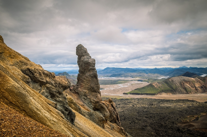 Landmannalaugar has many interesting hiking trails
