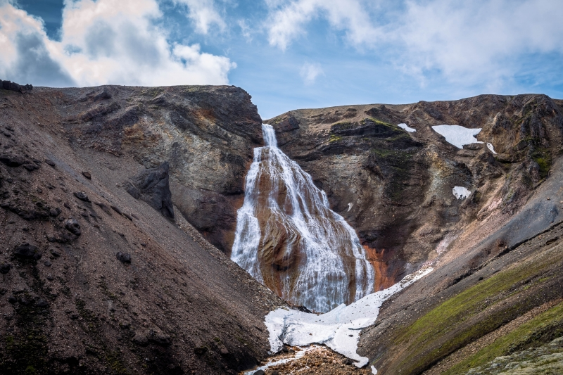Rauðfoss waterfall