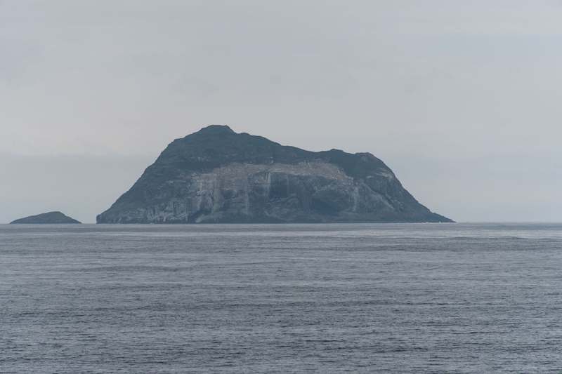 Skrúður is a steep and grassy island at the mouth of Fáskrúðsfjörður.