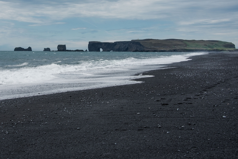 And also to the west where another spectacular natural wonder Dyrhólaey, the southernmost part of Iceland