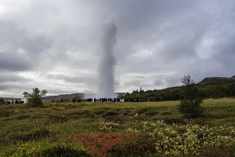 The whole area around Geysir is rather large