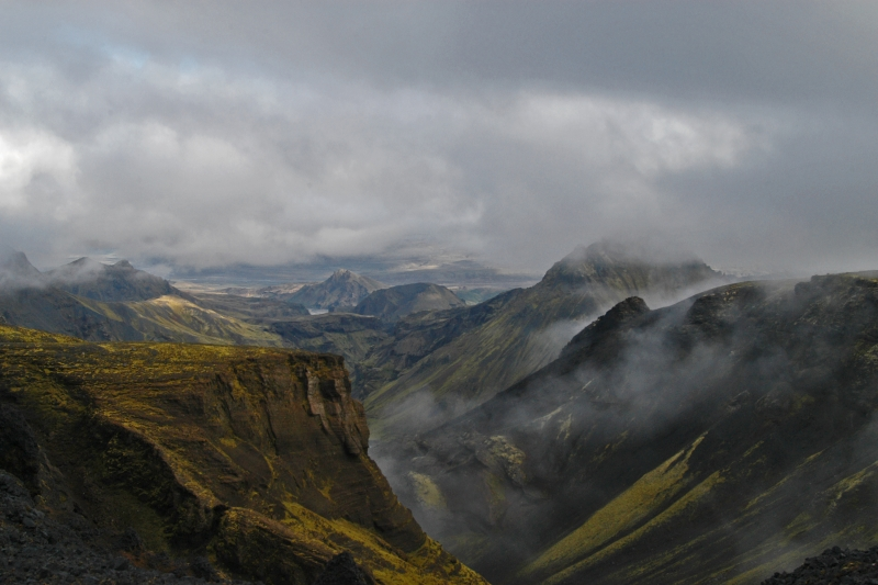 Although quite challenging, and even dangerous, many Icelanders and visitors walk Fimmvörðuháls 22 km and 1000 meter high track every summer.