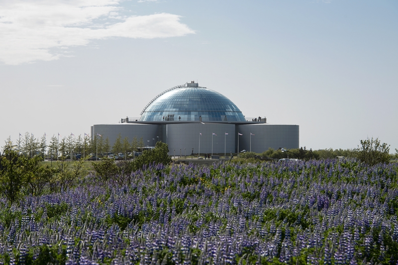 Perlan is probably the best-known landmark in Reykjavík