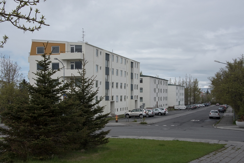 Hlíðar is a central district in the city of Reykjavík