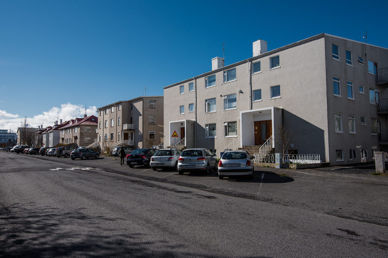 Vesturbær or the West Town in Reykjavík is mostly residential, with increasing tourist related commercial activity in the harbor area and Grandi.